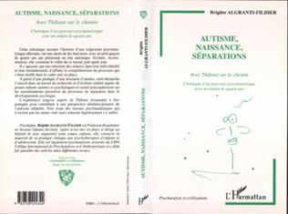 Couverture AUTISME, NAISSANCE, SÉPARATIONS