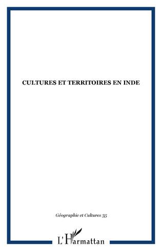 Couverture CULTURES ET TERRITOIRES EN INDE