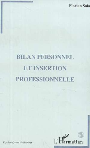 Couverture BILAN PERSONNEL ET INSERTION PROFESSIONNELLE