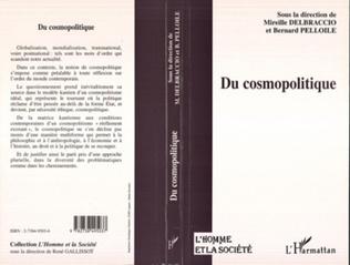 Couverture DU COSMOPOLITIQUE