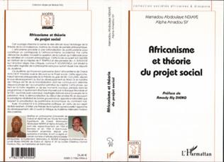 Couverture AFRICANISME ET THÉORIE DU PROJET SOCIAL