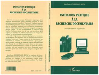 Couverture Initiation pratique à la recherche documentaire