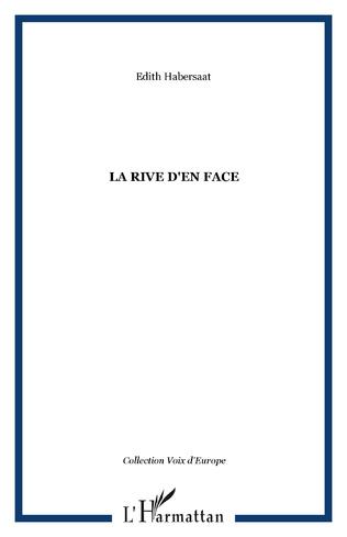 Couverture LA RIVE D'EN FACE