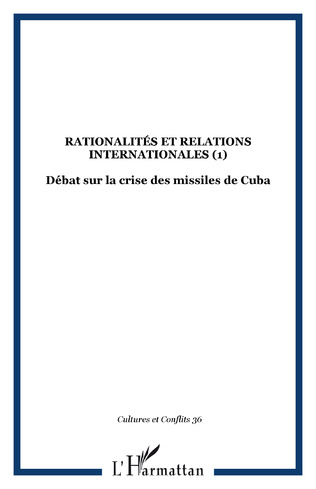 Couverture RATIONALITÉS ET RELATIONS INTERNATIONALES (1)