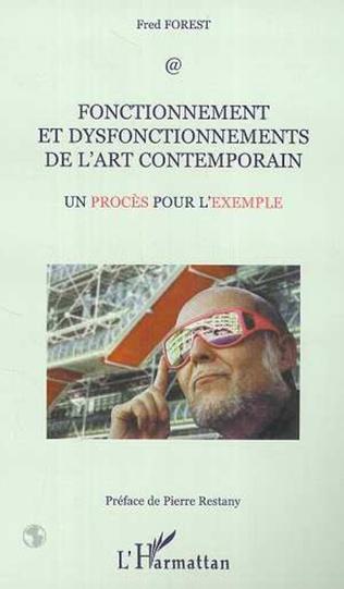 Couverture FONCTIONNEMENT ET DISFONCTIONNEMENTS DE L'ART CONTEMPORAIN