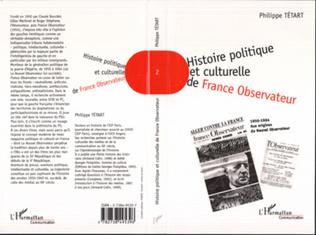 Couverture HISTOIRE POLITIQUE ET CULTURELLE DE FRANCE OBSERVATEUR 1950-1964
