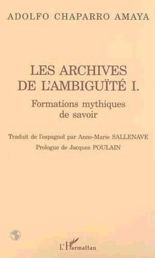 Couverture Les archives de l'ambiguïté I.