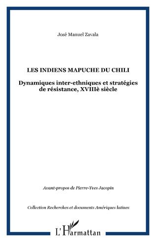 Couverture LES INDIENS MAPUCHE DU CHILI