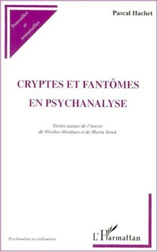 Couverture CRYPTES ET FANTÔMES EN PSYCHANALYSE