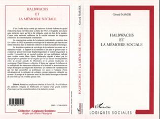 Couverture HALBWACHS ET LA MEMOIRE SOCIALE