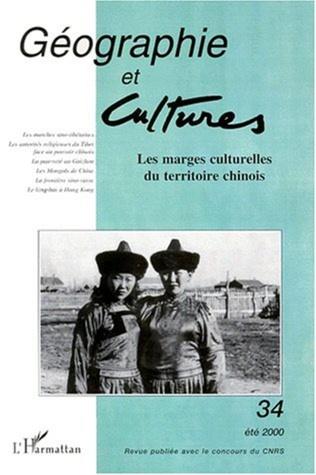 Couverture LES MARGES CULTURELLES DU TERRITOIRE CHINOIS