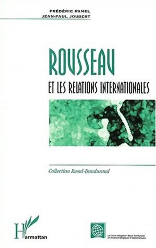 Couverture ROUSSEAU ET LES RELATIONS INTERNATIONALES
