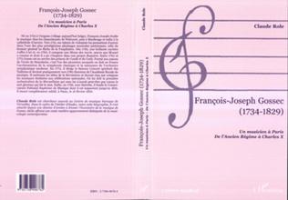 Couverture FRANÇOIS-JOSEPH GOSSEC (1734-1829)