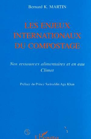 Couverture LES ENJEUX INTERNATIONAUX DU COMPOSTAGE