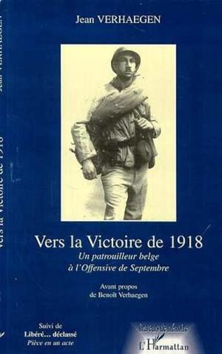 Couverture Vers la victoire de 1918