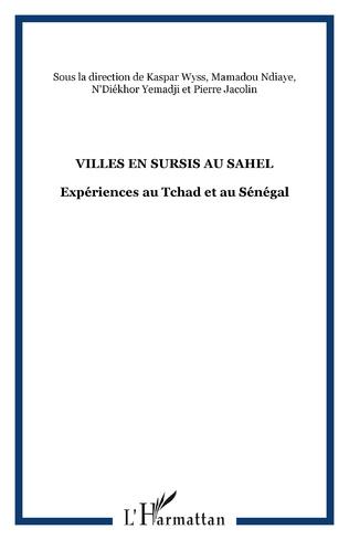Couverture VILLES EN SURSIS AU SAHEL