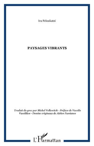 Couverture Paysages vibrants