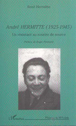 Couverture ANDRÉ HERMITTE (1925-1945)