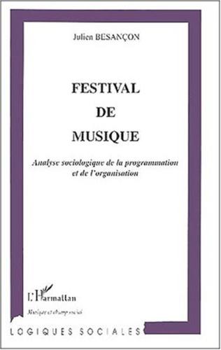 Couverture FESTIVAL DE MUSIQUE
