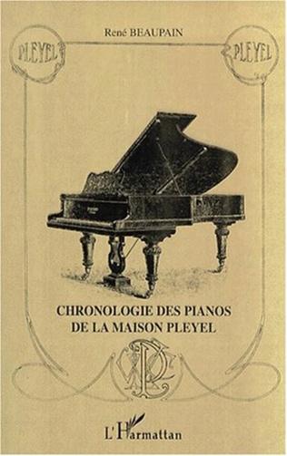 Couverture CHRONOLOGIE DES PIANOS DE LA MAISON PLEYEL