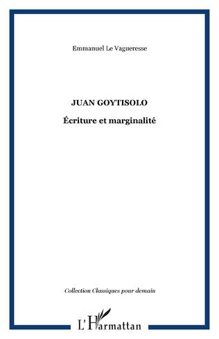 Couverture JUAN GOYTISOLO