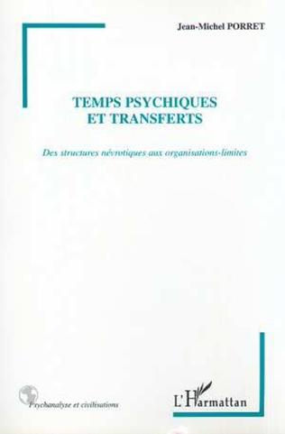 Couverture TEMPS PSYCHIQUES ET TRANSFERTS