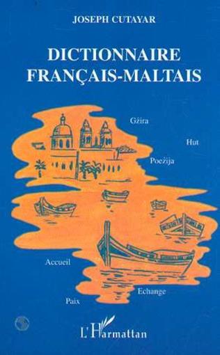 Couverture Dictionnaire français-maltais