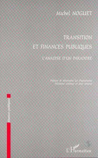 Couverture TRANSITIONS ET FINANCES PUBLIQUES