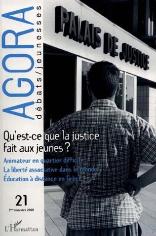 Couverture Qu'est-ce que la justice fait aux jeunes ?
