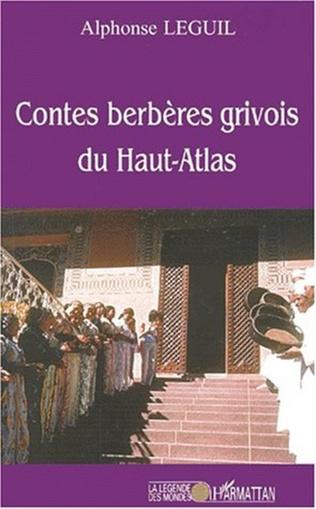 Couverture CONTES BERBèRES GRIVOIS DU HAUT-ATLAS
