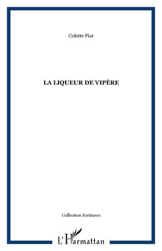 Couverture LA LIQUEUR DE VIPÈRE