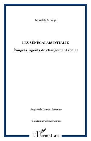 Couverture LES SÉNÉGALAIS D'ITALIE