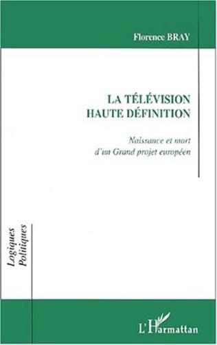 Couverture LA TÉLÉVISION HAUTE DÉFINITION