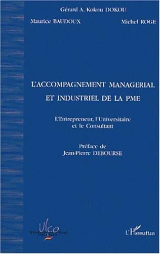 Couverture L'ACCOMPAGNEMENT MANAGÉRIAL ET INDUSTRIEL DE LA PME