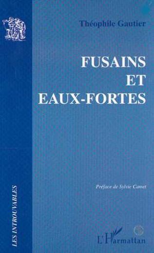 Couverture FUSAINS ET EAUX FORTES