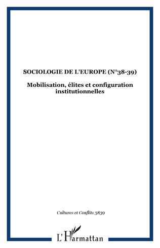 Couverture SOCIOLOGIE DE L'EUROPE (n°38-39)