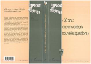 Couverture « 30 ANS : ANCIENS DEBATS, NOUVELLES QUESTIONS » (n°101-102)