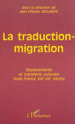 Couverture Présentation : La traduction-migration