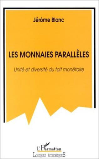 Couverture LES MONNAIES PARALLÈLES