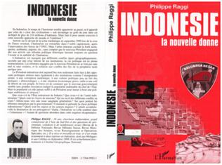 Couverture INDONÉSIE LA NOUVELLE DONNE