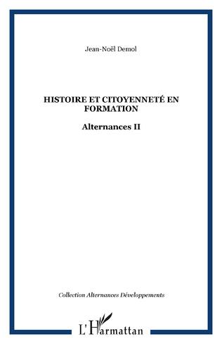 Couverture HISTOIRE ET CITOYENNETÉ EN FORMATION