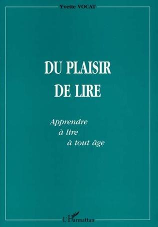 Couverture DU PLAISIR DE LIRE