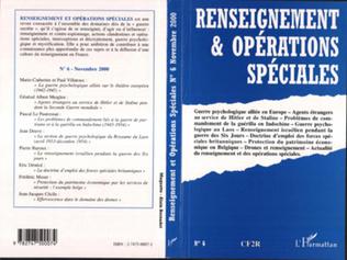 Couverture RENSEIGNEMENT ET OPÉRATIONS SPÉCIALES N° 6