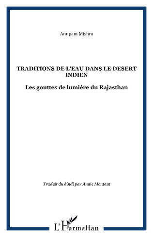 Couverture TRADITIONS DE L'EAU DANS LE DESERT INDIEN