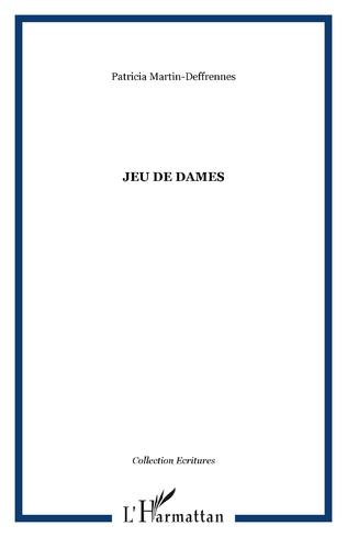 Couverture JEU DE DAMES