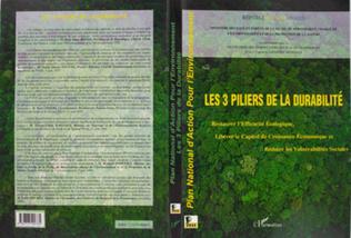 Couverture LES 3 PILIERS DE LA DURABILITE