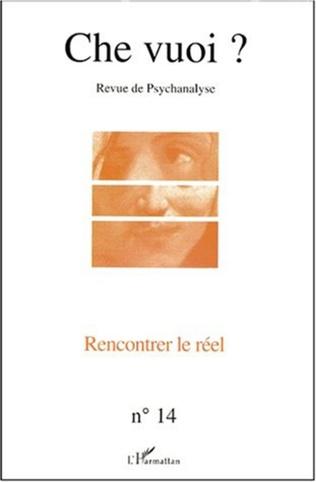 Couverture RENCONTRER LE RÉEL