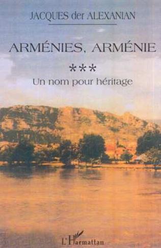 Couverture ARMÉNIES, ARMÉNIE