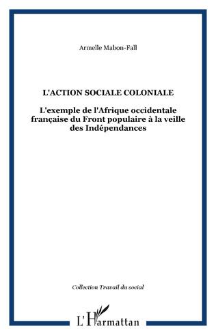 Couverture L'ACTION SOCIALE COLONIALE