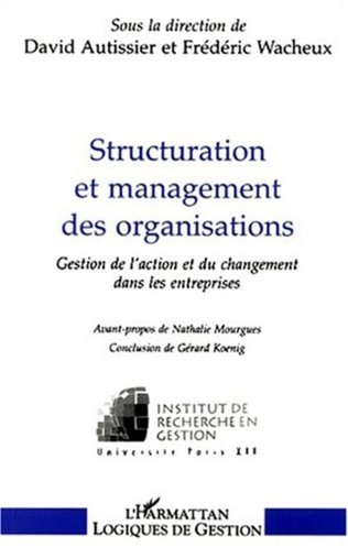 Couverture STRUCTURATION ET MANAGEMENT DES ORGANISATIONS